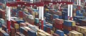 Congestión y demoras en el puerto de Shanghai