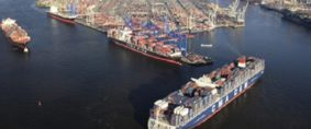 Los Mega Buques desafían al puerto de Hamburgo